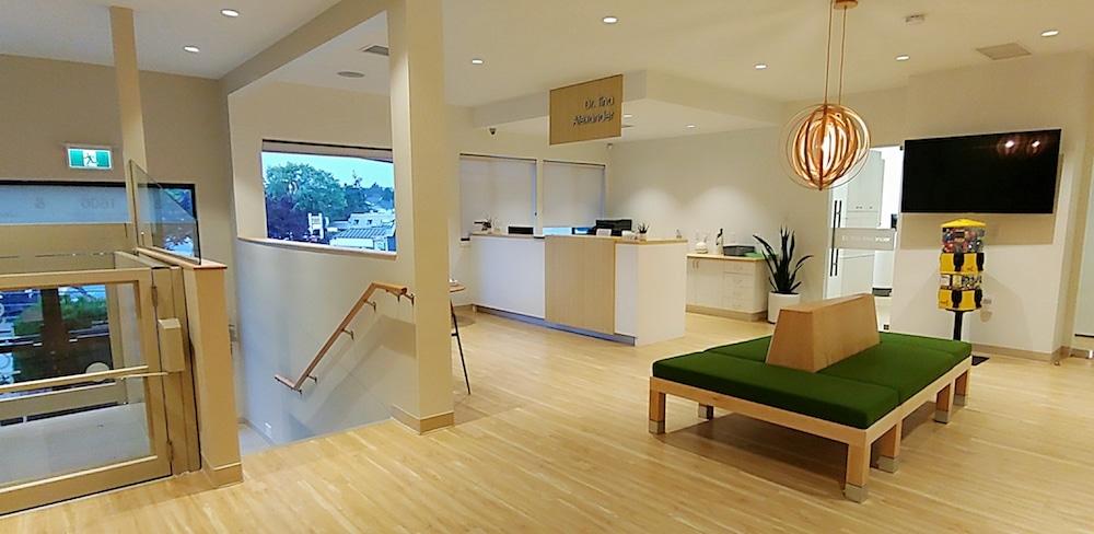 Cedar Tree Dental Reception